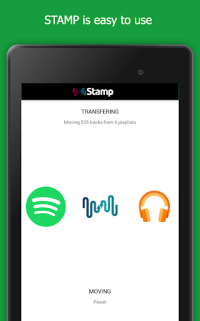 STAMP: Music Importer Transfer Your Playlists screenshot 14