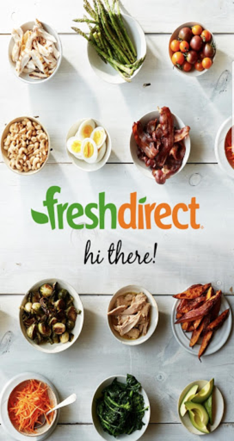 FreshDirect: Grocery, Food & Alcohol Delivery screenshot 1