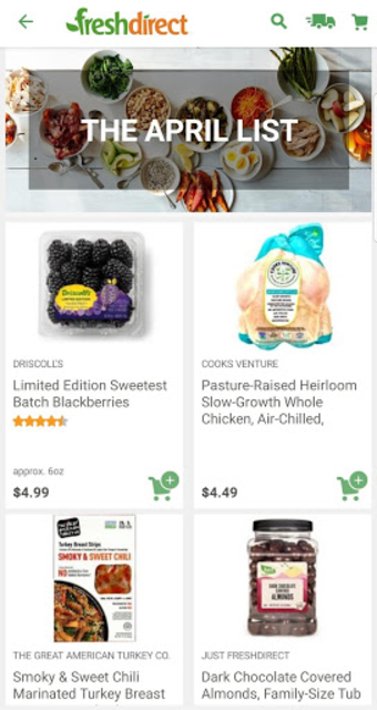 FreshDirect: Grocery, Food & Alcohol Delivery screenshot 3