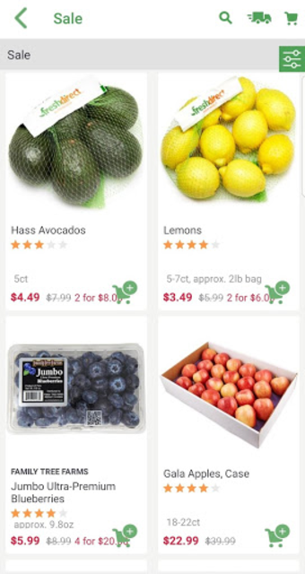 FreshDirect: Grocery, Food & Alcohol Delivery screenshot 5