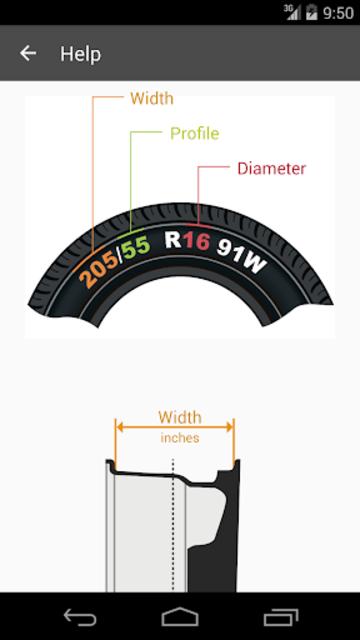 Tire Size Calculator screenshot 4