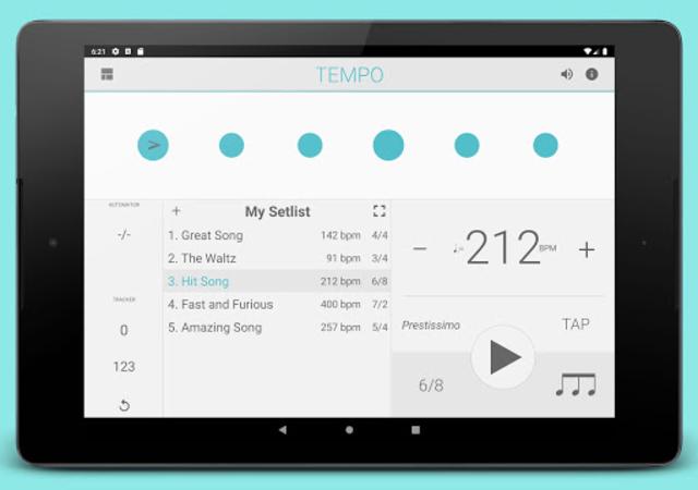 Metronome: Tempo screenshot 7