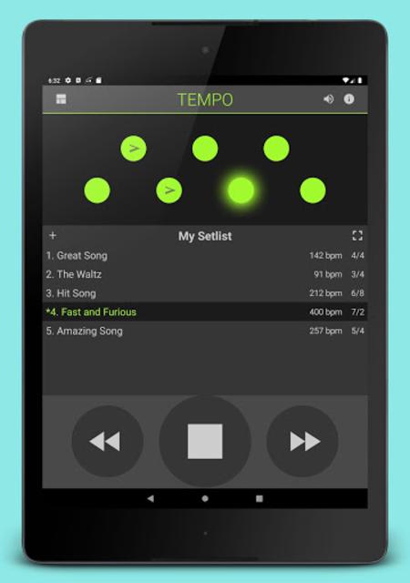 Metronome: Tempo screenshot 8