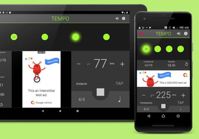 Metronome: Tempo Lite screenshot 1