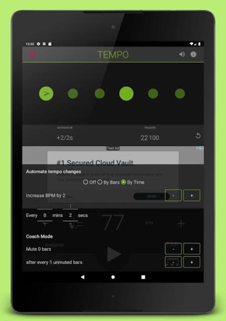 Metronome: Tempo Lite screenshot 12