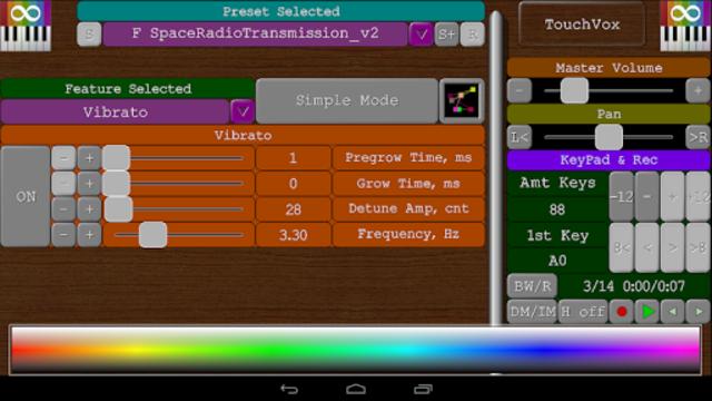 TouchVox screenshot 5