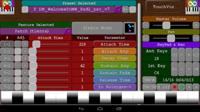 TouchVox screenshot 8