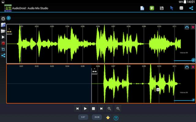 AudioDroid : Audio Mix Studio screenshot 9