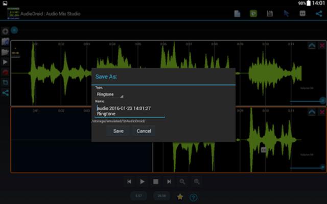 AudioDroid : Audio Mix Studio screenshot 10