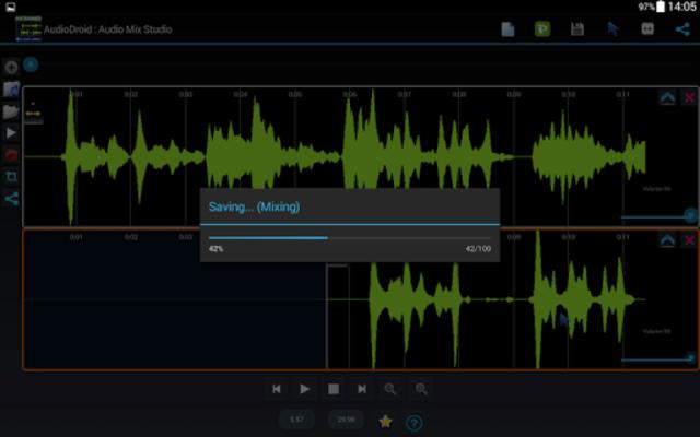 AudioDroid : Audio Mix Studio screenshot 11