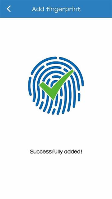 Fingerprint Card Manager screenshot 7