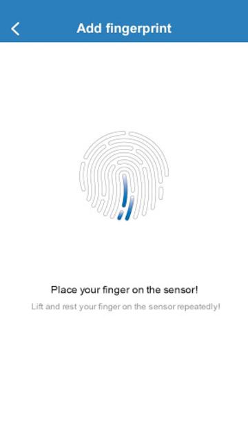 Fingerprint Card Manager screenshot 4