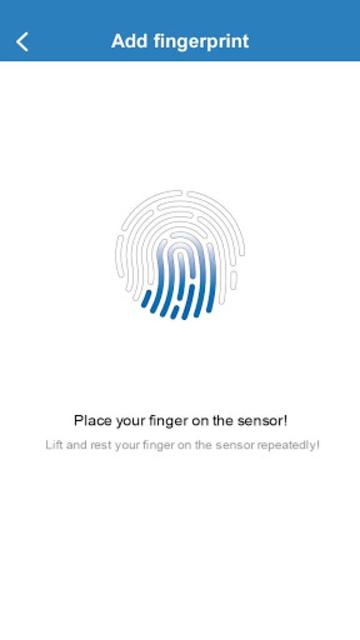 Fingerprint Card Manager screenshot 5