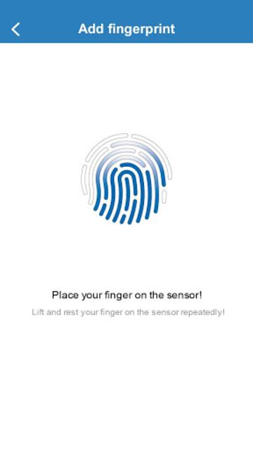 Fingerprint Card Manager screenshot 6