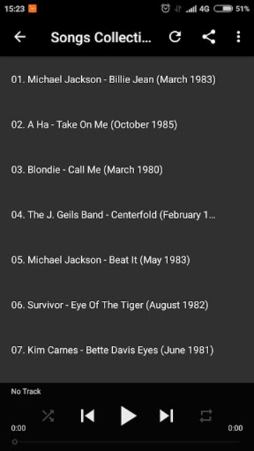 80s 90s 2000s Music COllection screenshot 3