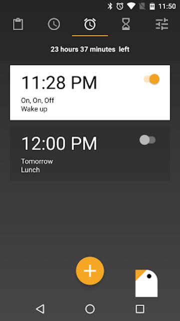 Early Bird Alarm Clock screenshot 1