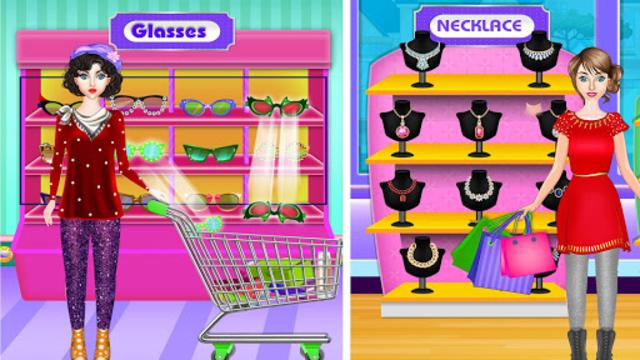 High School BFF At Shopping Mall: Clothing Spree screenshot 1