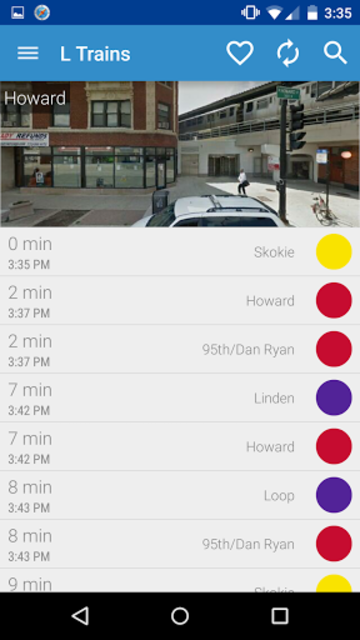 Chicago Transit - CTA screenshot 1