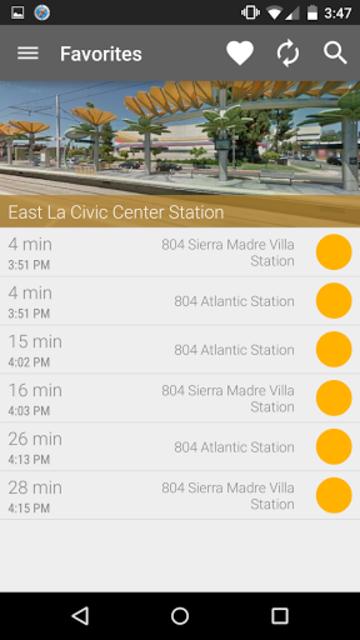 Los Angeles Metro and Bus screenshot 1