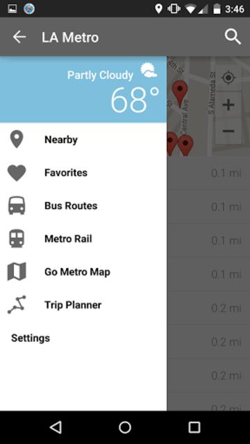 Los Angeles Metro and Bus screenshot 2