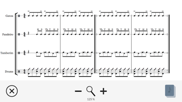 PercussionTutor screenshot 3