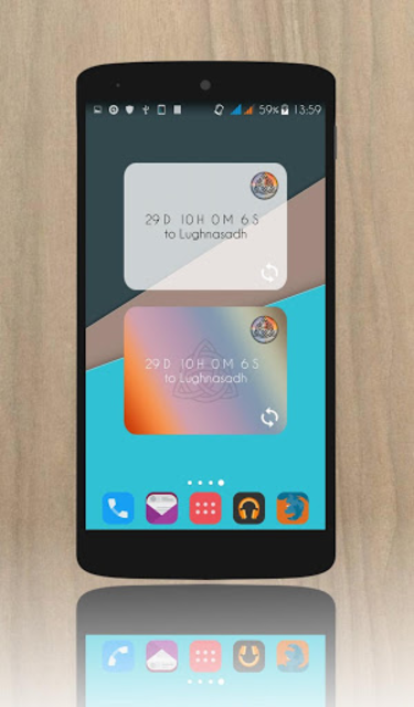 Wicca Calendar Widget screenshot 2