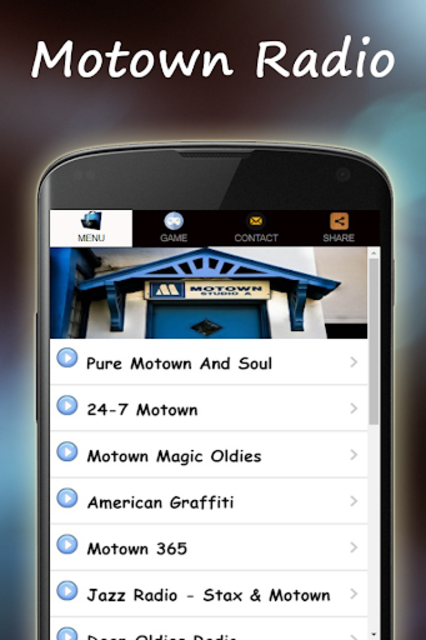 Motown Music Radio screenshot 2