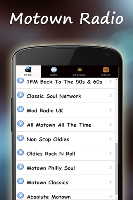 Motown Music Radio screenshot 3