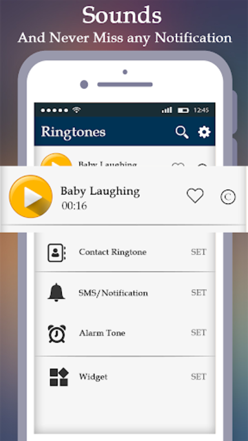 New Funny Ringtones , Smart Alarm clock Ringtones screenshot 5