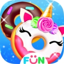 Icon for Cook Donut Maker - Unicorn Food Baking Games