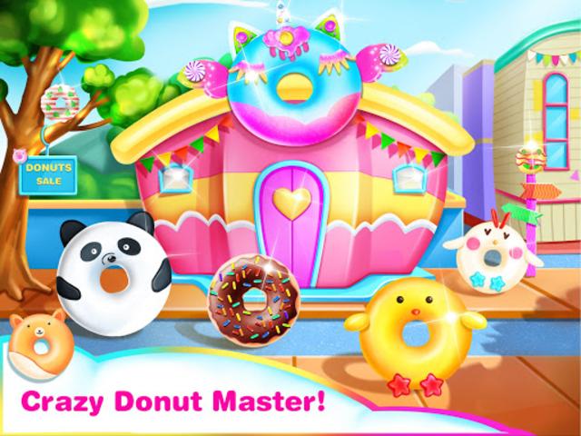 Cook Donut Maker - Unicorn Food Baking Games screenshot 1