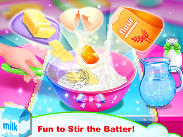 Cook Donut Maker - Unicorn Food Baking Games screenshot 2