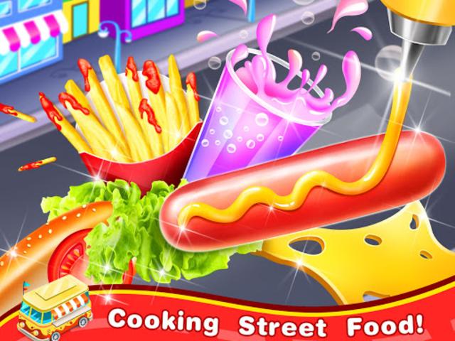 Famous Street Food Maker – Yummy Carnivals Treats screenshot 1