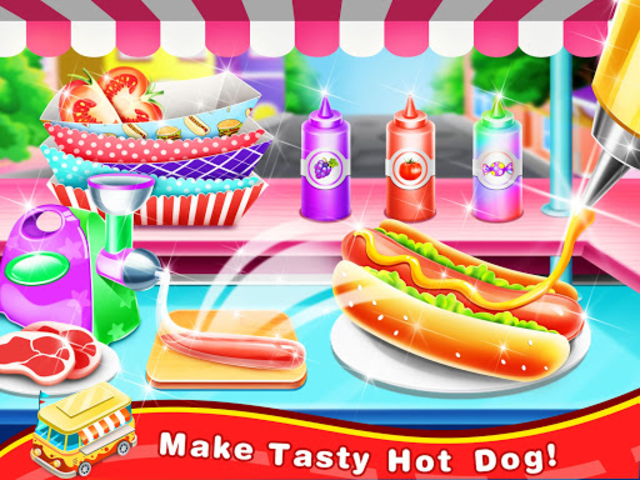 Famous Street Food Maker – Yummy Carnivals Treats screenshot 4