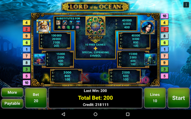 Lord of the Ocean™ Slot screenshot 13