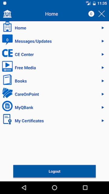 APEA Mobile screenshot 1