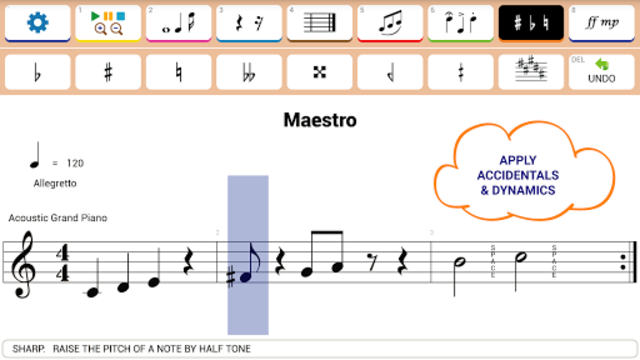 Maestro - Music Composer screenshot 2
