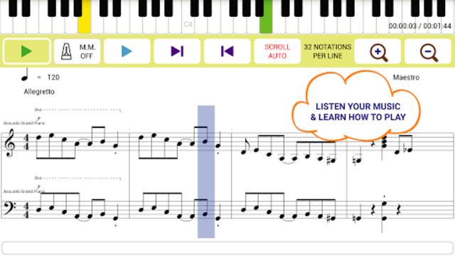 Maestro - Music Composer screenshot 4