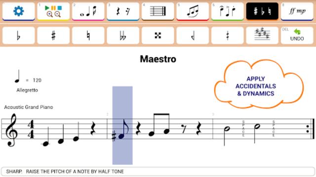Maestro - Music Composer screenshot 18