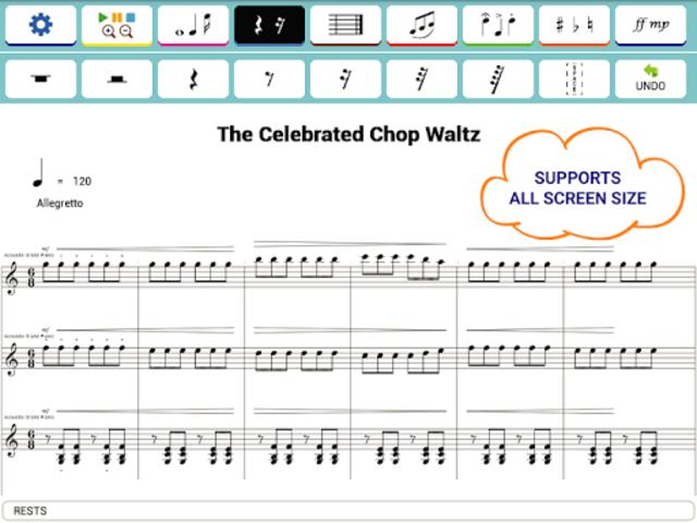 Maestro - Music Composer screenshot 22