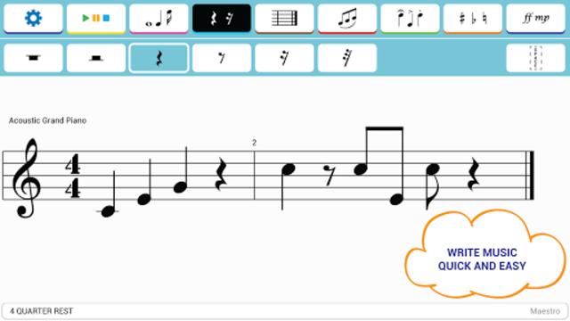 Maestro - Music Composer screenshot 1