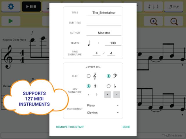Maestro - Music Composer screenshot 12