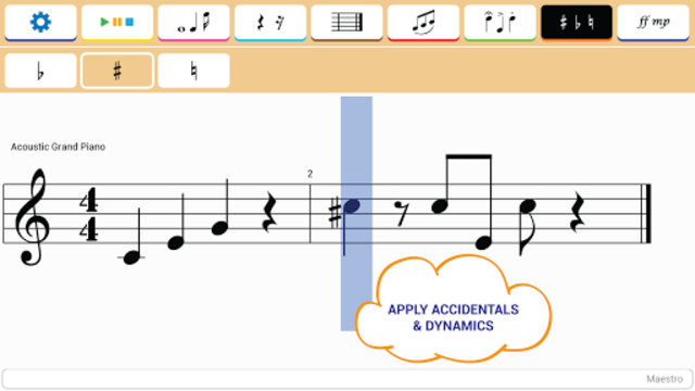 Maestro - Music Composer screenshot 14