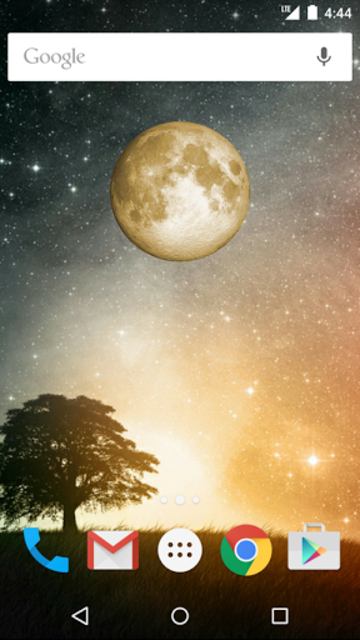 Simple Moon Phase Widget Plus screenshot 1