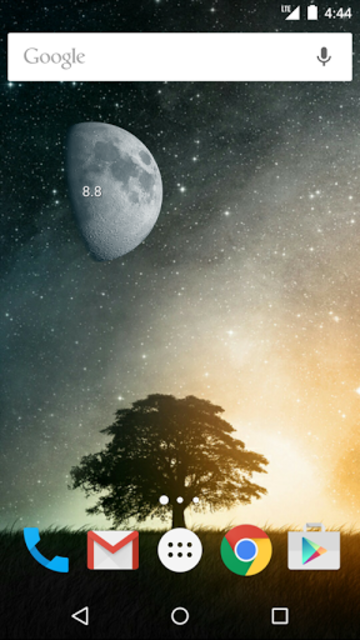 Simple Moon Phase Widget Plus screenshot 2