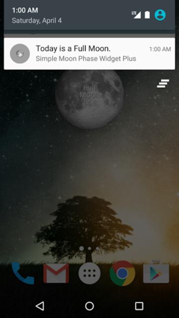 Simple Moon Phase Widget Plus screenshot 6