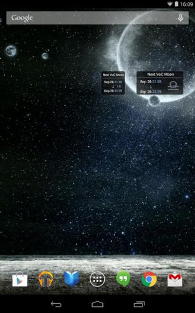 Simple VoC Moon Calendar screenshot 5