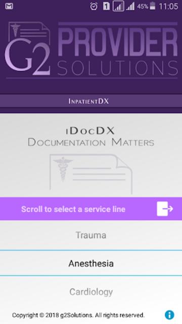 iDocDX screenshot 1