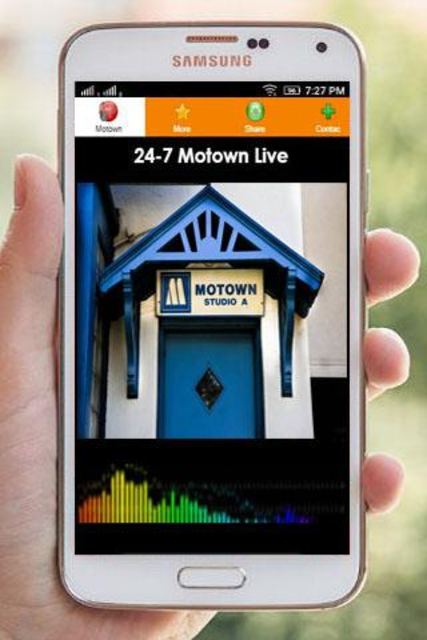 Motown Music Radio Stations screenshot 2