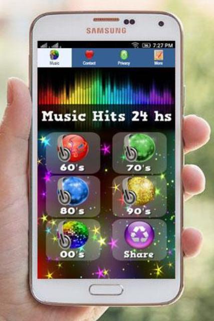 60s 70s 80s 90s 00s Music hits Retro Radios screenshot 1